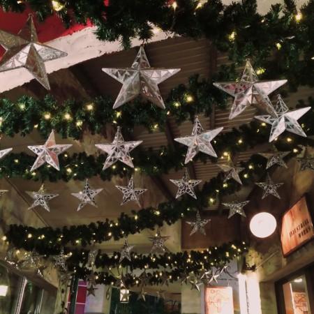 クリスマス02 天井