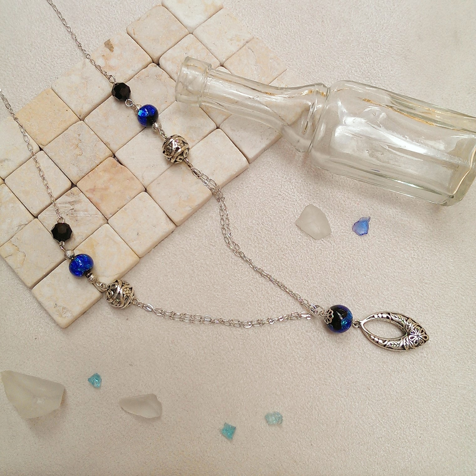 ホタルガラス ネックレス
