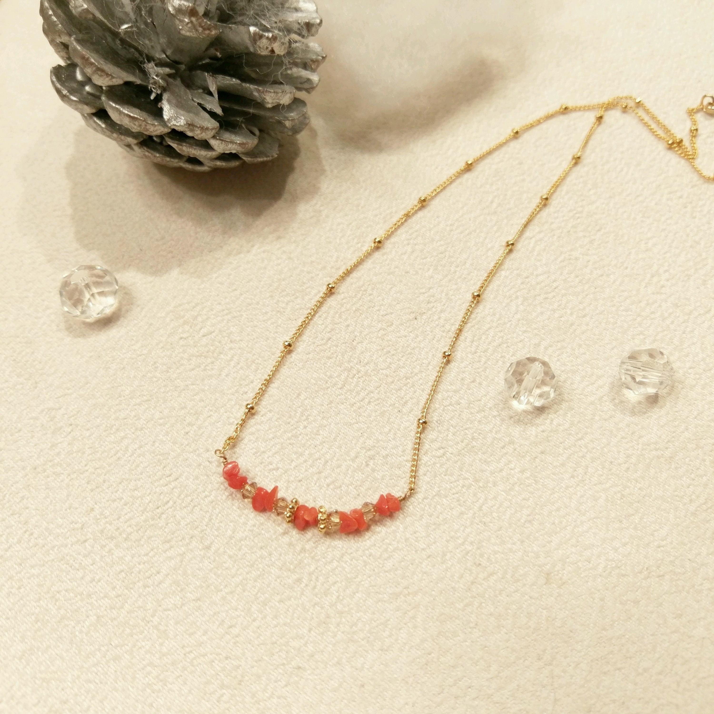 サンゴ 赤サンゴ ペンダント ネックレス