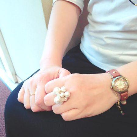 コットンパール コットンパールリング 指輪