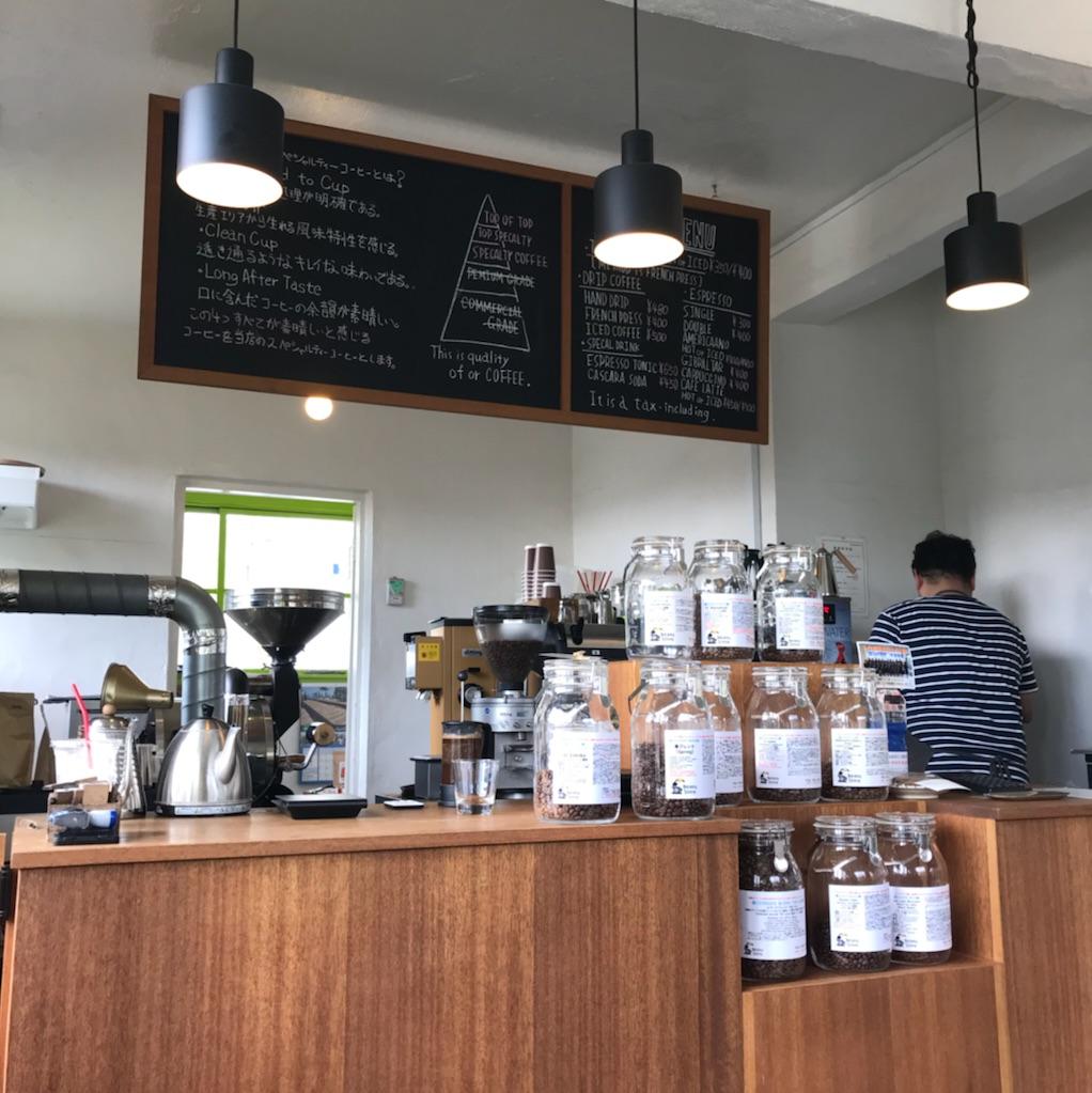 コーヒー 沖縄 港川外人住宅街