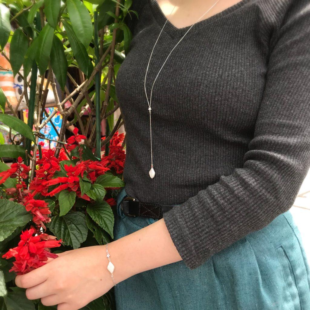 淡水パール ネックレス ロングネックレス ブレスレット 母の日 母の日ギフト プレゼント フォーマル デイリー 上品