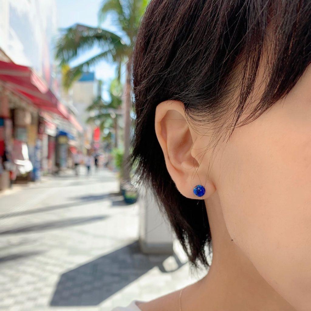 沖縄 オキナワ Okinawa 沖縄旅行 JEENAR ジーナ ハンドメイド Handmade ハンドメイドアクセサリー ホタルガラス 国際通り